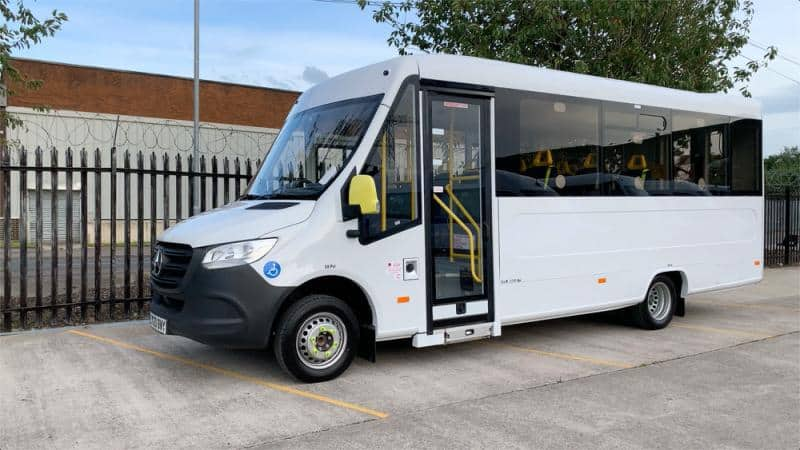 Hertfordshire County Council takes delivery of five Treka minibuses through TPPL's framework