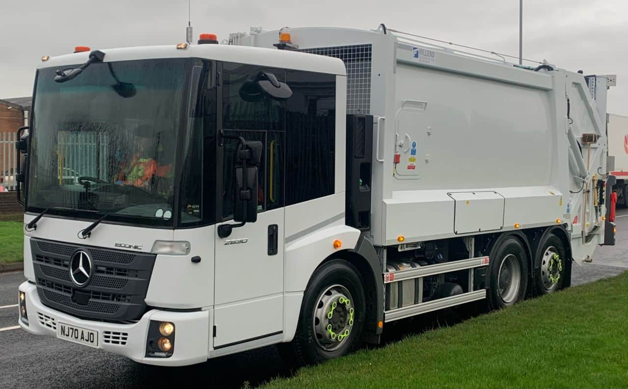 Redcar & Cleveland Borough Council take delivery of 5 new Mercedes Refuse vehicles via our Framework