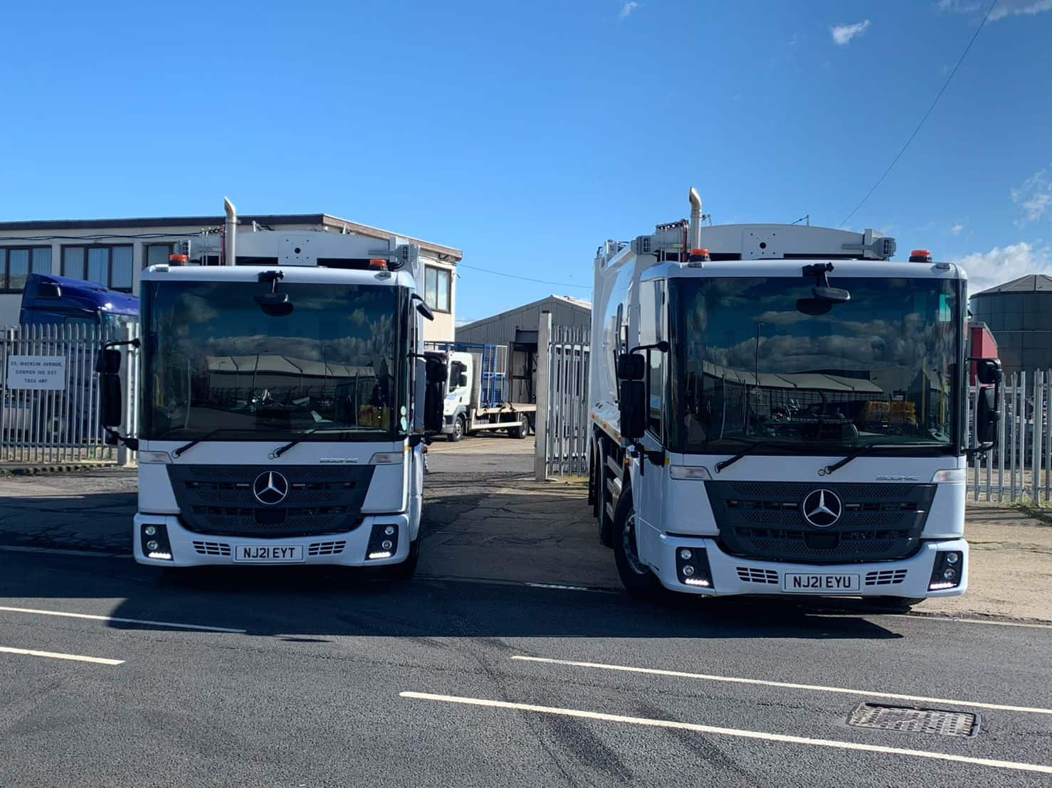TPPL & NEPO enable Durham County Council to take delivery of nine Mercedes refuse vehicles