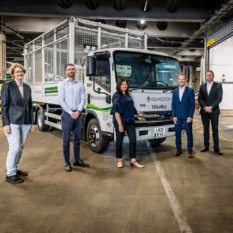 TPPL's HCC Framework enables Islington to welcome first fully electric cage tippers