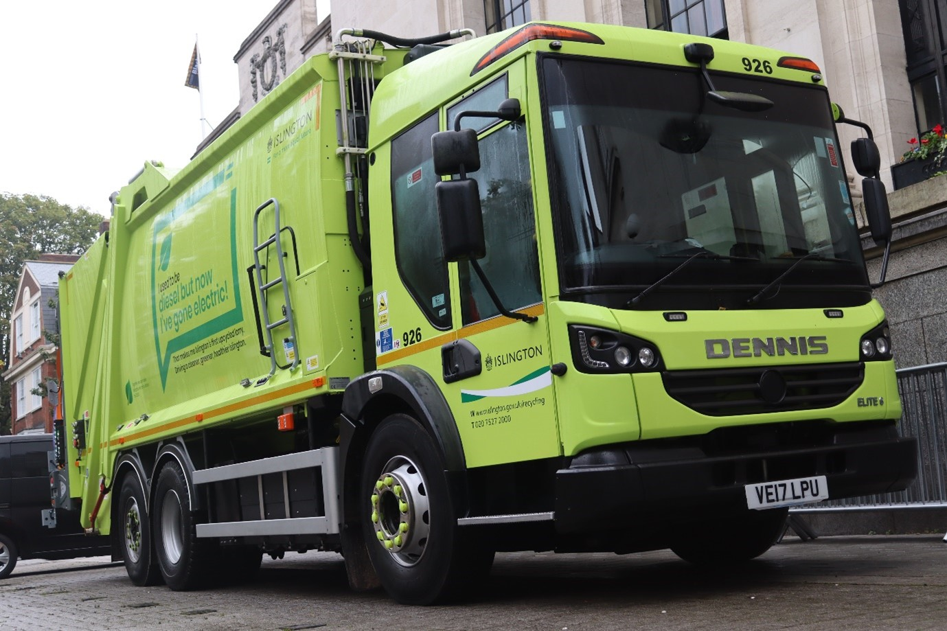 TPPL's Framework enables first ever twin pack electric RCV conversion delivery to Islington Council